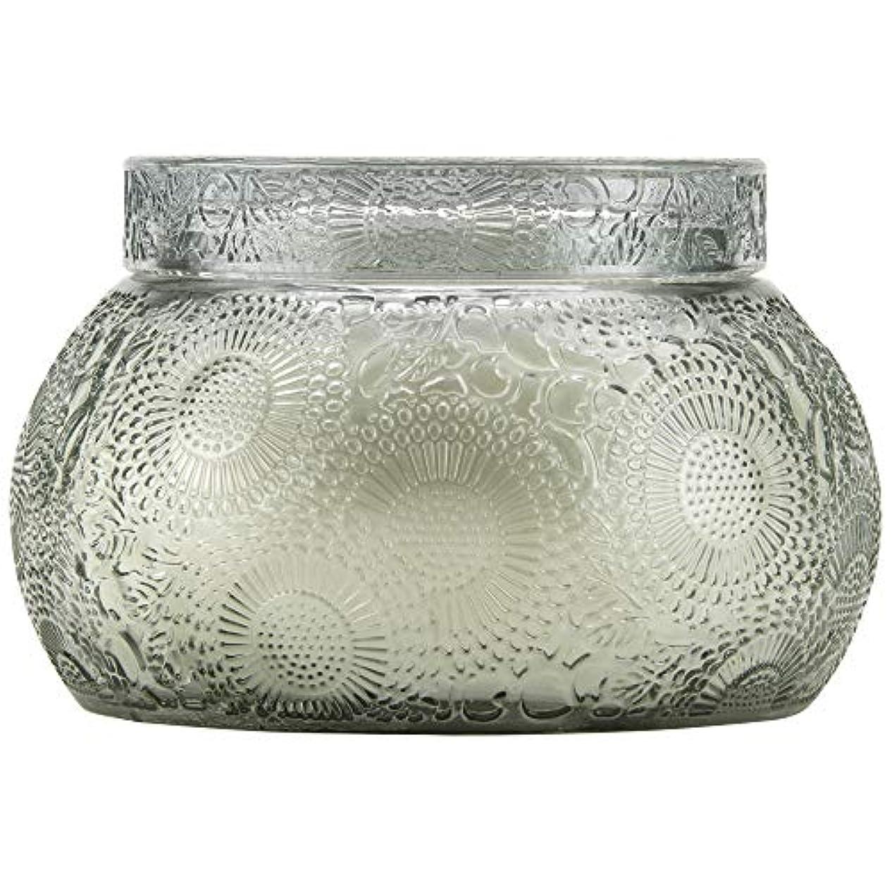 バン汚染する解釈するVOLUSPA チャワングラスキャンドル French Cade Lavender フレンチケード&ラベンダー GLASS CANDLE ボルスパ
