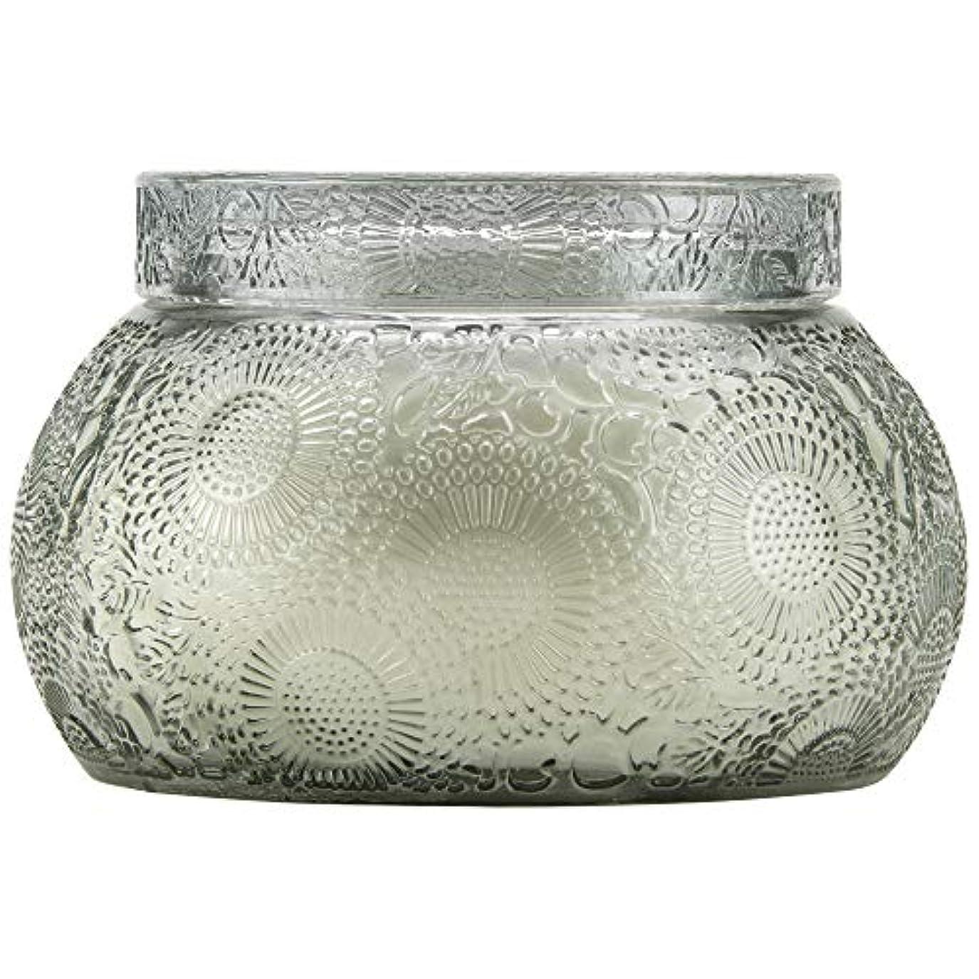 香ばしい毛細血管ベッドを作るVOLUSPA チャワングラスキャンドル French Cade Lavender フレンチケード&ラベンダー GLASS CANDLE ボルスパ