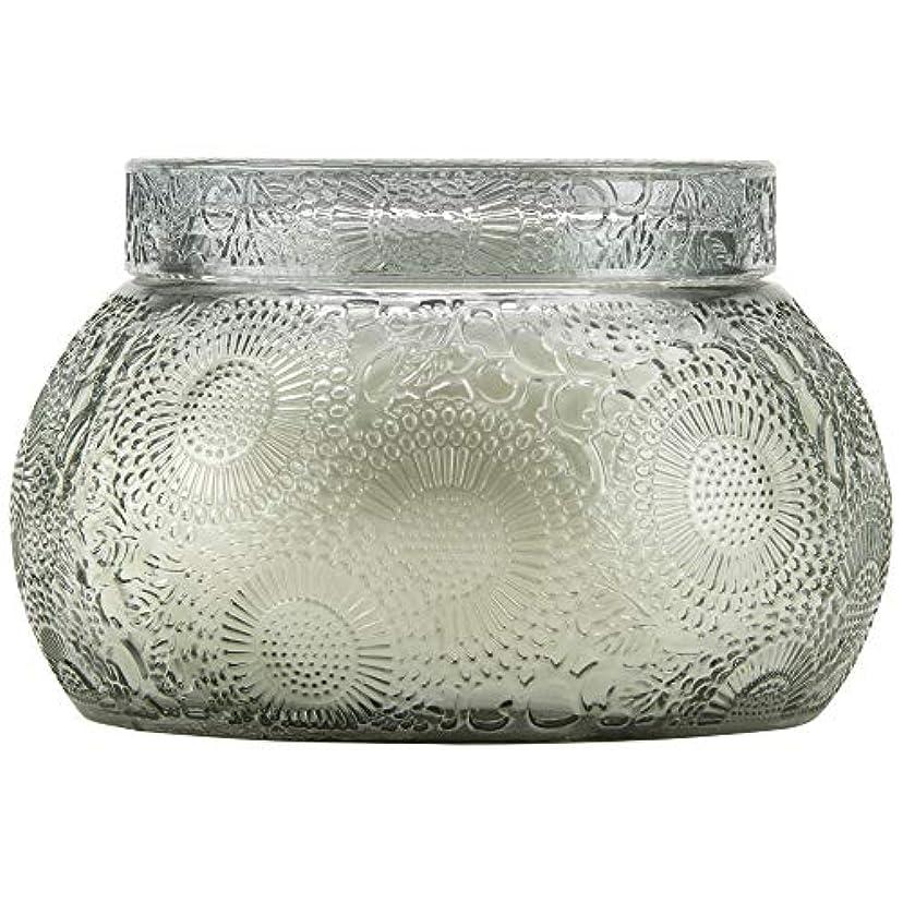 外側白雪姫狂ったVOLUSPA チャワングラスキャンドル French Cade Lavender フレンチケード&ラベンダー GLASS CANDLE ボルスパ
