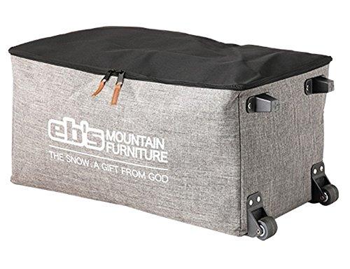 eb's (エビス) スノーボード ブーツケース GEAR WHEEL HEATHER GREY ギア・ウィール