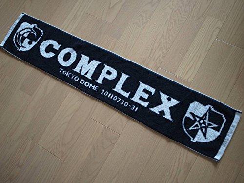 COMPLEX マフラータオル エンブレム 日本一心 2011 東京ドーム 吉川晃司 布袋寅泰 グッズ