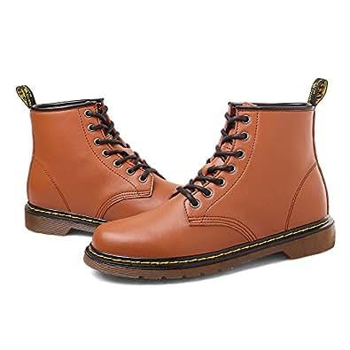MERLIN 8cmUP メンズ シークレット シークレットシューズ シークレットブーツ 8cmアップ メンズ 履くだけで背が高くなる靴 メンズブーツ ワークブーツ メンズシューズ インヒール (24, ブラウン)