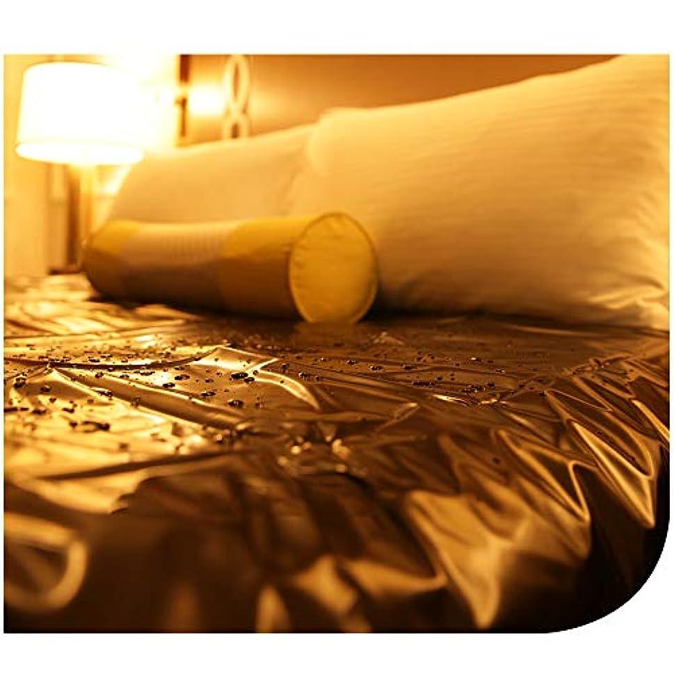 スキャンダル四分円ほこりっぽい防水シーツ、新婚夫婦のバレンタインデーの大人のカップルゲームの情熱シート、失禁ケア防水寝具シーツも子供に適しています
