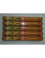 Hem Egyptian Musk Incense Sticks 5六角チューブ、合計100 Sticks