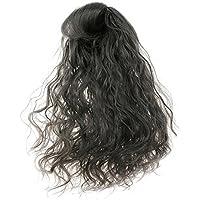 SONONIA 1/6 ブライス用 ドール人形 かわいい 波状 巻き毛 かつら ギフト 黒