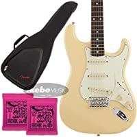 Fender《フェンダー》Made in Japan/Limited Run Traditional 60s Stratocaster (Vintage White) [Made in Japan] 【お得なFenderギグケース&ERNIE BALL弦2個セット!】