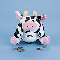 Plush Milk Money Cow Bank