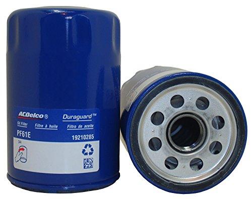 2002-2009y シボレー トレイルブレイザー L6-4200cc用 ACDelco製 オイルフィルター (オイルエレメント) #PF61E (旧品番#PF61)