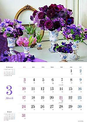 『花時間』バラあしらいカレンダー2019 ([カレンダー])