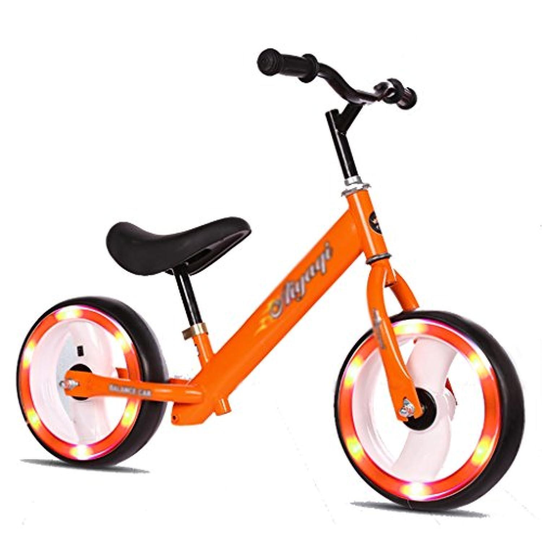 フラッシュホイールスライディングカーウォーカーベビーノーペダル子供スクーターバイクキッズおもちゃダブルホイール2-6歳