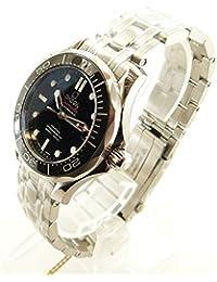 (オメガ) OMEGA 212.30.36.20.01.002 シーマスター CO-AXIAL プロフェッショナル 300 腕時計 153g ステンレススチール ボーイズ 中古
