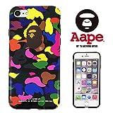 エイプ 【 A BATHING APE 】 iPhone7 アイフォン7 対応ケース ア ベイシング エイプ ape011 [並行輸入品]