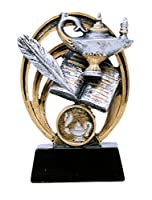 "Decade Awards 5""ランプの知識のAcademic Halo Award/Trophy"