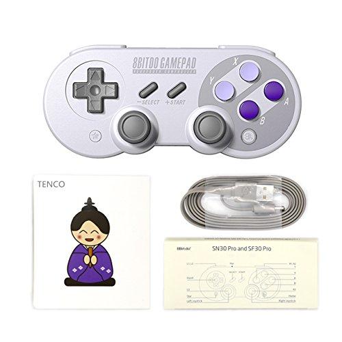 8Bitdo SN30 PRO ワイヤレスBluetoothゲームパッドコントローラー
