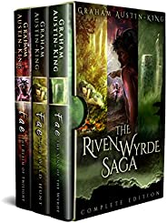 The Riven Wyrde Saga (Omnibus edition): The Complete Epic Fantasy Trilogy.