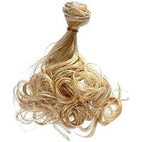 【ノーブランド 品】BJD SD バービー 人形 梨花散髪 DIY ウィッグ カーリーヘア 15x100cm 全24色選べる - 20