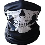 Hyperia Stretchable Tubular Skull Bandana Motorcycle Biker Snowboards Helmet Neck Face Mask Paintball Ski Sport Headband