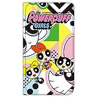 パワーパフガールズ iPhone6s ケース 手帳型 薄型プリント手帳 デザインC-C (ppg-013) カード収納 ストラップホール スタンド機能 WN-LC286392-ML