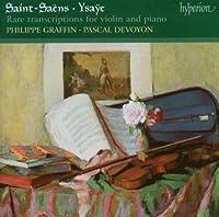 Saens & Ysaye: Rare Transcript