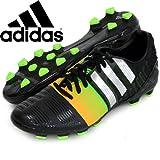 アディダス (adidas) ハードグラウンド用 サッカースパイク 26.0cm ナイトロチャージ nitrocharge 2.0  HG ハードグラウンド M29856 コアブラック×シルバーメット×ソーラーゴールド 国内正規品