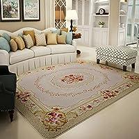 YKFN カーペット リビング じゅうたん アメリカン 絨毯 ラグ 滑り止め 敷物 北欧デザイン シンプル 現代 約4.5畳 130*190cm