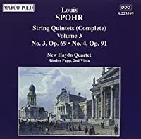 Spohr: String Quintets, Vol 3 (1995-12-12)