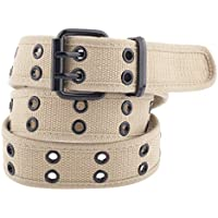 Kids Canvas Two-Hole Belt - Available in 8 Colors