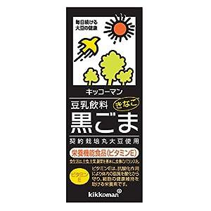 キッコーマン飲料 キッコーマン 豆乳飲料 黒ごま 200ml×18本