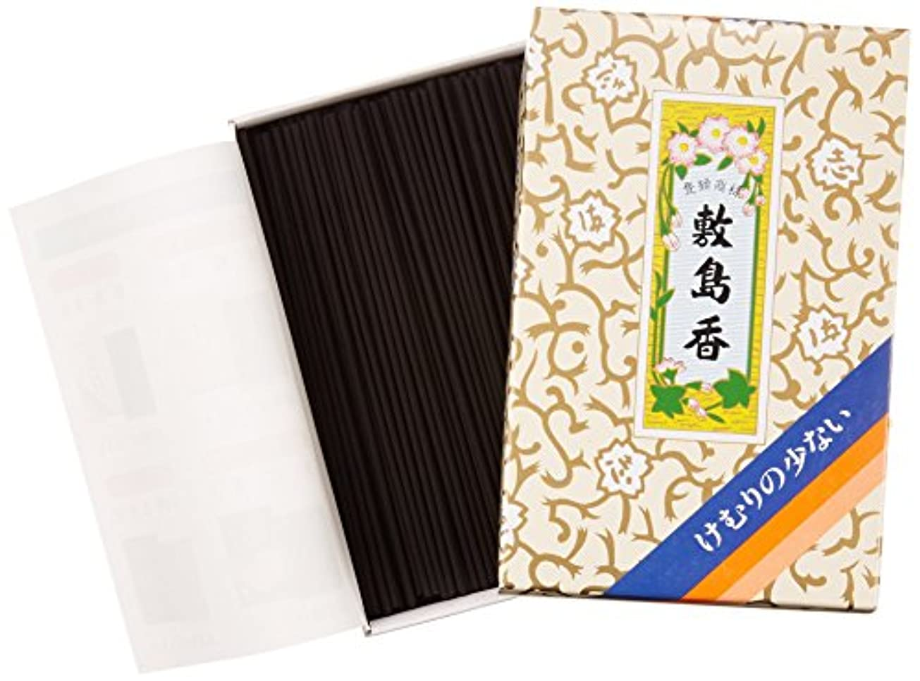 熟達コンパニオンかすかな敷島線香 煙の少ない敷島香 短寸バラR #110