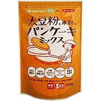 オレンジページまめ部監修 みたけ 大豆粉と米粉のパンケーキミックス200g