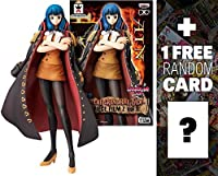 "Ain: ~6.3"" One Piece DXF The Grandline Lady - Film Z Figure Vol.1 + 1 FREE Official One Piece Trading Card Bundle"
