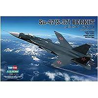 ホビーボス 1/72 エアクラフトシリーズ Su-47 S-37 ベルクート プラモデル 80211