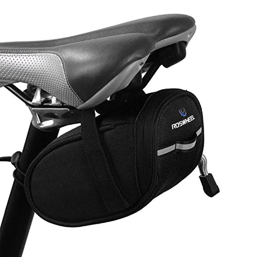 ポゴスティックジャンプ賃金勢いサドルバッグ自転車シートパックサイクリングシートバッグ自転車ストラップオンサドルバッグ-A3