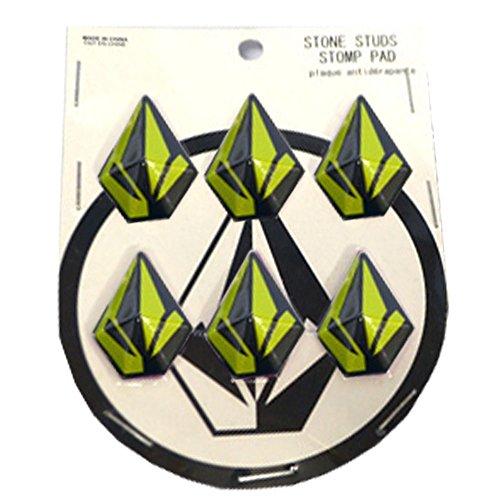 [해외]VOLCOM 보루 코무 2016 가을 겨울 StoneStudsStomp 데크 패드 6 개 1 세트 YEL OneSize/VOLCOM Volcom 2016 Fall & Winter StoneStudsStomp Deck Pad 6 pieces 1 set YEL OneSize