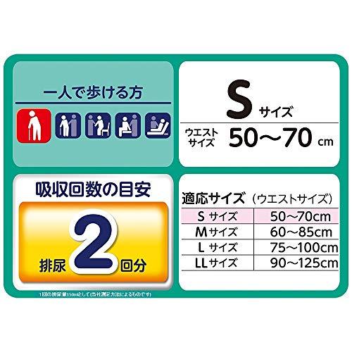 ライフリー うす型軽快パンツ S 24枚×4