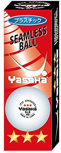 ヤサカ(YASAKA) 卓球 ボール 公認球 プラ3スター SLB 3個入 A-51