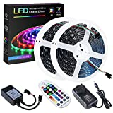 SPARKE DreamColor Led Strip Lights, 32.8ft/10m Music Sync LED Light, Waterproof RGB 300Leds SMD5050 Flexible Strip Lighting w