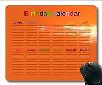 2019カレンダーマウスパッドカレンダー、カレンダーウォールゲームマウスパッド、カレンダープランナー2019休日の詳細