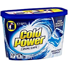 Cold Power Laundry Detergent Capsules, 18 Pack, 450 grams