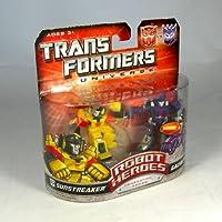 Transformers Universe Robot Heroes Sunstreaker Vs Galvatron [並行輸入品]