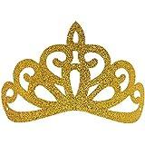 (Princess Tiara) - Frozen Party Crowns,12pcs Glitter Princess Birthday Hats for Party Decoration