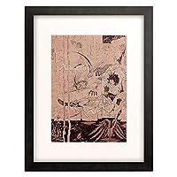 オーブリー・ビアズリー 「Blatt aus Morte d」 額装アート作品