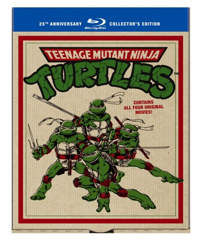 Teenage Mutant Ninja Turtles: 25th Anniversary Collector's Edition (Teenage Mutant Ninja Turtles / Secret of the Ooze /