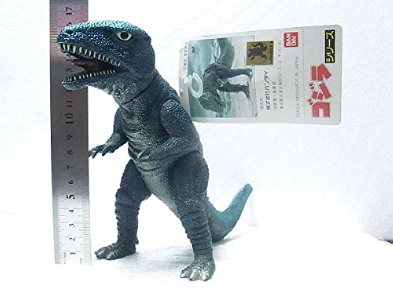 ゴジラ怪獣ゴロザウルスソフビタグ付きバンダイ旧ムービーモンスター