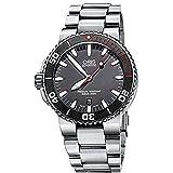 オリス Oris Men's 73376534183MB Aquis Analog Display Swiss Automatic Silver Watch 男性 メンズ 腕時計 【並行輸入品】