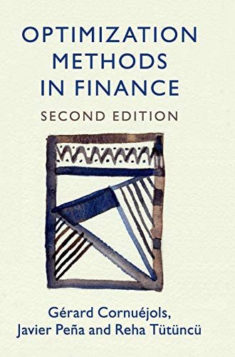 Download Optimization Methods in Finance (Mathematics, Finance and Risk) 1107056748
