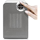 ecHome PTC Ceramic Heater 1800W Electric Oscillating Fan IP21 LED Silent CH1800P