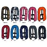 ライフジャケット ベストタイプ 自動膨張式 全11色 CE認証取得品 ISO基準適合 男女兼用...