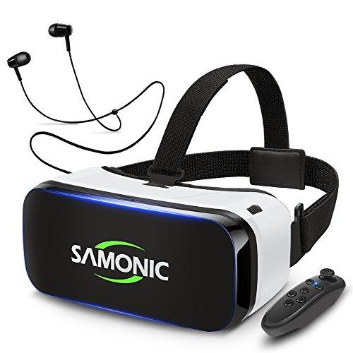 SAMONIC 3D VRゴーグル 「Bluetoothコントローラ、イヤホ...