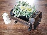 木製プランターカバー 樽型320